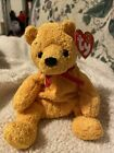 Ty beanie baby Poopsie the Bear with ted ribbon 2001
