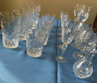 Rogaska Gallia Crystal 20 Pieces Beautiful detailsRetired Collection Vintage
