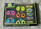 Hot Wheels Monster Trucks Glow In The Dark Collection 10 Pack BRAND NEW