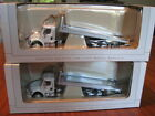 Spec Cast Freightliner M2 with Car Carrier Lot of 2 White 1 64 Scale