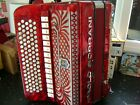 PAOLO SOPRANI CHROMATIC ACCORDION 5 VOICE WITH TONE CHAMBER  C SYSTEM