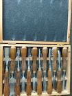 IMOTECHOM 12 Pieces Woodworking Wood Carving Tools Chisel Set please read