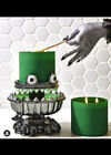 NEW Bath  Body Works Halloween 2021 Monster Light Up 3 Wick Candle Holder