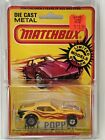 1980 Mathbox Superfast CARDED LESNEY HOT POPPER Yellow Limited Edition FREE SHIP