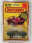 1972 Matchbox Superfast CARDED LESNEY Green MUSTANG COBRA Boss FREE SHIPPING