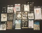 Jewelry Making Lot Swarovski Crystals BeadsCharms Sliders Brooch And More NIP