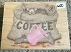 House Mouse Stamp Rubber Stamps Lot 600 The Need For Caffeine