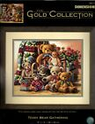 Dimensions Gold TEDDY BEAR GATHERING counted cross stitch kit 35115 KnutsonNIP