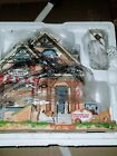 Lemax Christmas Village Claws & Paws Pet Hotel in box
