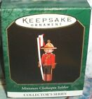 Clothespin Soldier`1997`Miniature-He's A Clothespin Series,Hallmark Ornament