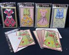 5 Packs Of 8 ME MARY ENGELBREIT DRESSES Note CARDS And Envelopes  40 POOCH NIP