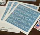 100 USPS Love Skywriting Forever Stamps 5 Sheets of 20