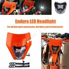Off Road Enduro LED Headlight Assembly For XCW EXC 250 300 EXC TPI EXC F450 690R