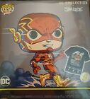 DC The FLASH BY JIM LEE GAMESTOP EXCLUSIVE FUNKO POP! w T-SHIRT (LARGE)