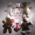 Lot Of 6 Plush Toys Aurora Coca Cola Mary Meyer Beanie Babies Little Jelly Cat