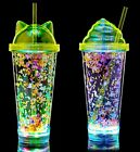 Ultra LED Flashing Glasses Light Up Drinking Tumbler Cup Multicolour Fun Party