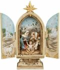 Josephs Studio Nativity Triptych with the Holy Family Under a Star 36946