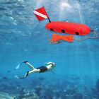 Torpedo Buoy Float for Scuba Free Diving  Swimming Dive Flag and Rope Beach Red
