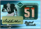 DICK BUTKUS 2003 Leaf Limited Threads Jersey PATCH Autograph 51 💎 Bears HOF