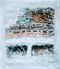 Adobe House Cliff Dwelling Snow Artists Painting Native Ancestral Puebloans