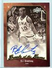2009-10 Upper Deck Greats of the Game NCAA BJ Armstrong Autograph SP 💎 IOWA