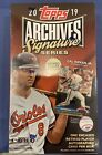 2019 Topps Archives Signature Series Retired Player Edition Sealed Box Baseball