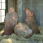 Park Hill Collection Antique Metal Nativity Display Outdoor Set Of 3