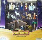 Tales Of Glory Nativity Interactive Set For Children 17 piece Durable Plastic