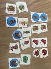 Vintage Stickers Scratch n Sniff great condition in album over 65 stickers