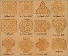 Tandy Leather Craftool Celtic Stamp Set of 12 8161 00