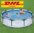 Pool Ground Swimming Above Frame Set Steel DHL fast Round Outdoor Filter Summer