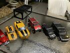 jada diecast cars Lot Of 6 Cars 1 18 And 1 24 Scale Hummers Camaro 1951 Lincoln