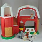 LITTLE PEOPLE FARM BARN Fisher Price K7925 W Sound and Animals Working