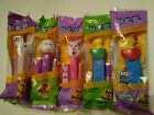 Easter Pez Dispensers Bunnies, Chick's, & A Lamb New In Package