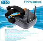 JMT Mini FPV Goggles With Mushroom Antenna Panel Antenna for Racing Drone