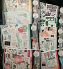 NEWHappy Planner sticker books Lot of 100 me and my big ideas 2021