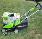 Greenworks 40V 17 Inch Cordless Push Lawn Mower with 40Ah Battery and Charger