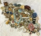 BIG Vintage  Costume Jewelry Lot Incl Quality Pieces Signed and Sterling