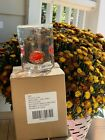 NEW Anthropologie Fall Leaves Drinking Glass
