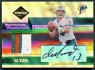 DAN MARINO 2005 LIMITED MATERIAL MONKIERS PATCH AUTO AUTOGRAPH 25 *GAME-USED*