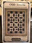 Olde Towne Quilt Kit Panel Pattern Featuring Sturbridge Fabric by Moda