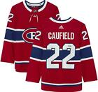 Cole Caufield Montreal Canadiens Autographed Red Adidas Authentic Jersey
