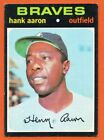 Vintage Topps Hank Aaron Baseball Cards Showcase Gallery and Checklist 82