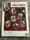 NEW Angels of Christmas Ornaments Dimensions Cross Stitch Kit JHimsworth