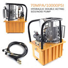 Electric Driven Hydraulic Pump Double Solenoid Valve Double acting 10000PSI 110V