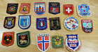 Vintage Patch Lot of 16 from all over the World Olympics Holland Swiss Disney +