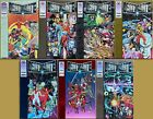 Deathmate Complete set + Green Preview special. 1st Gen 13! (Valiant 1993)