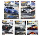 Hot Wheels Fast  Furious 2021 Fast Superstars Set of 5 GBW75 956M In Stock
