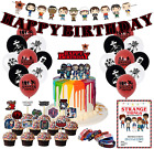 Stranger Things Birthday Decorations Party Packs with Banner Cake Cupcake Topper