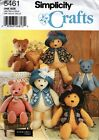 18 and 22 Teddy Bears Accessories  Clothes Sewing Pattern Simplicity 5461